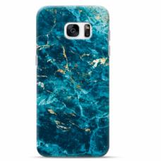 "Tpu Dėklas Unikaliu Dizainu 1.0 Mm ""U-Case Airskin Marble 2 Design"" Samsung Galaxy S6 Edge Telefonui"