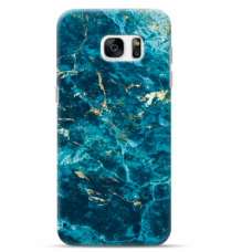 "Tpu Dėklas Unikaliu Dizainu 1.0 Mm ""U-Case Airskin Marble 2 Design"" Samsung Galaxy S6 Telefonui"