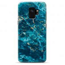 "Tpu Dėklas Unikaliu Dizainu 1.0 Mm ""U-Case Airskin Marble 2 Design"" Samsung Galaxy S9 Telefonui"