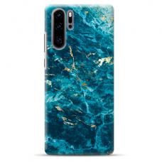 "Tpu Dėklas Unikaliu Dizainu 1.0 Mm ""U-Case Airskin Marble 2 Design"" Huawei P30 Pro Telefonui"