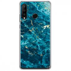 "Tpu Dėklas Unikaliu Dizainu 1.0 Mm ""U-Case Airskin Marble 2 Design"" Huawei P40 Lite E Telefonui"