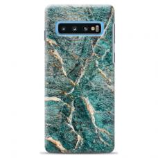 "Tpu Dėklas Unikaliu Dizainu 1.0 Mm ""U-Case Airskin Marble 1 Design"" Samsung Galaxy S10 Plus Telefonui"