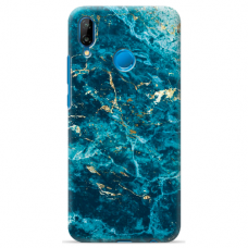 "Tpu Dėklas Unikaliu Dizainu 1.0 Mm ""U-Case Airskin Marble 2 Design"" Huawei P Smart 2019 Telefonui"