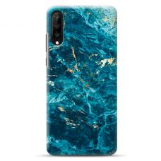 "Tpu Dėklas Unikaliu Dizainu 1.0 Mm ""U-Case Airskin Marble 2 Design"" Samsung Galaxy A7 2018 Telefonui"