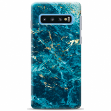 "Tpu Dėklas Unikaliu Dizainu 1.0 Mm ""U-Case Airskin Marble 2 Design"" Samsung Galaxy S10 Plus Telefonui"