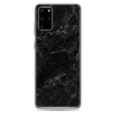 "Tpu Dėklas Unikaliu Dizainu 1.0 Mm ""U-Case Airskin Marble 4 Design"" Samsung Galaxy S20 Plus Telefonui"
