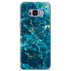 "Tpu Dėklas Unikaliu Dizainu 1.0 Mm ""U-Case Airskin Marble 2 Design"" Samsung Galaxy S8 Plus Telefonui"