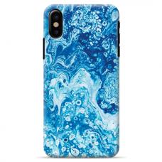 """Tpu Dėklas Unikaliu Dizainu 1.0 Mm """"U-Case Airskin Marble 3 Design"""" Iphone Xr Telefonui"""