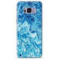 "Tpu Dėklas Unikaliu Dizainu 1.0 Mm ""U-Case Airskin Marble 3 Design"" Samsung Galaxy S8 Telefonui"
