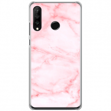 "Tpu Dėklas Unikaliu Dizainu 1.0 Mm ""U-Case Airskin Marble 5 Design"" Huawei P40 Lite E Telefonui"