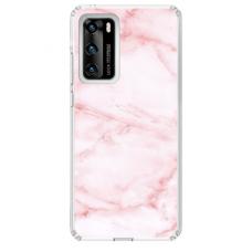 "Tpu Dėklas Unikaliu Dizainu 1.0 Mm ""U-Case Airskin Marble 5 Design"" Huawei P40 Telefonui"