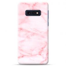 "Tpu Dėklas Unikaliu Dizainu 1.0 Mm ""U-Case Airskin Marble 5 Design"" Samsung Galaxy S10E Telefonui"