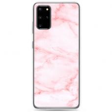 "Tpu Dėklas Unikaliu Dizainu 1.0 Mm ""U-Case Airskin Marble 5 Design"" Samsung Galaxy S20 Plus Telefonui"
