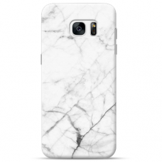 "Tpu Dėklas Unikaliu Dizainu 1.0 Mm ""U-Case Airskin Marble 6 Design"" Samsung Galaxy S6 Edge Telefonui"