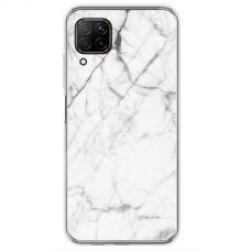 "Tpu Dėklas Unikaliu Dizainu 1.0 Mm ""U-Case Airskin Marble 6 Design"" Huawei P40 Lite Telefonui"