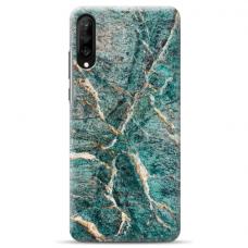 "Tpu Dėklas Unikaliu Dizainu 1.0 Mm ""U-Case Airskin Marble 1 Design"" Samsung Galaxy A70 Telefonui"