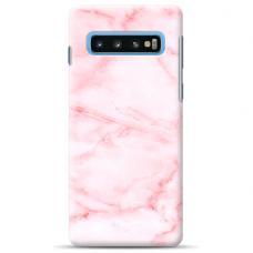 "Tpu Dėklas Unikaliu Dizainu 1.0 Mm ""U-Case Airskin Marble 5 Design"" Samsung Galaxy S10 Plus Telefonui"