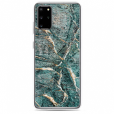 "Tpu Dėklas Unikaliu Dizainu 1.0 Mm ""U-Case Airskin Marble 1 Design"" Samsung Galaxy S20 Plus Telefonui"