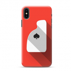 "TPU DĖKLAS UNIKALIU DIZAINU 1.0 mm ""U-CASE AIRSKIN ACE DESIGN"" IPHONE XR TELEFONUI"