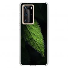 "Tpu Dėklas Unikaliu Dizainu 1.0 Mm ""U-Case Airskin Nature 1 Design"" Huawei P40 Pro Telefonui"