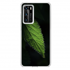 "Tpu Dėklas Unikaliu Dizainu 1.0 Mm ""U-Case Airskin Nature 1 Design"" Huawei P40 Telefonui"