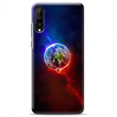 """Tpu Dėklas Unikaliu Dizainu 1.0 Mm """"U-Case Airskin Nature 4 Design"""" Samsung Galaxy A7 2018 Telefonui"""