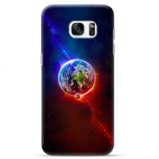 "Tpu Dėklas Unikaliu Dizainu 1.0 Mm ""U-Case Airskin Nature 4 Design"" Samsung Galaxy S6 Edge Telefonui"