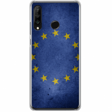 "Tpu Dėklas Unikaliu Dizainu 1.0 Mm ""U-Case Airskin Eu Design"" Huawei P30 Lite Telefonui"