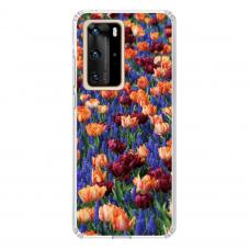 "Tpu Dėklas Unikaliu Dizainu 1.0 Mm ""U-Case Airskin Nature 2 Design"" Huawei P40 Pro Telefonui"