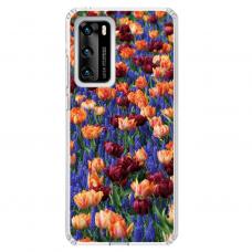 "Tpu Dėklas Unikaliu Dizainu 1.0 Mm ""U-Case Airskin Nature 2 Design"" Huawei P40 Telefonui"