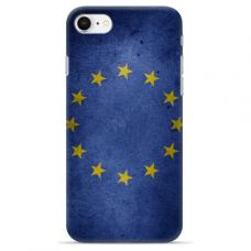 """Tpu Dėklas Unikaliu Dizainu 1.0 Mm """"U-Case Airskin Eu Design"""" Iphone 7 Plus / Iphone 8 Plus Telefonui"""
