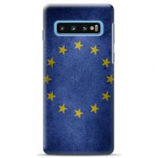 """Tpu Dėklas Unikaliu Dizainu 1.0 Mm """"U-Case Airskin Eu Design"""" Samsung Galaxy S10 Telefonui"""