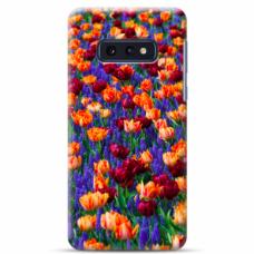 """Tpu Dėklas Unikaliu Dizainu 1.0 Mm """"U-Case Airskin Nature 2 Design"""" Samsung Galaxy S10E Telefonui"""