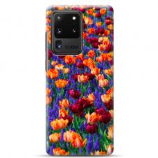 """Tpu Dėklas Unikaliu Dizainu 1.0 Mm """"U-Case Airskin Nature 2 Design"""" Samsung Galaxy S20 Ultra Telefonui"""