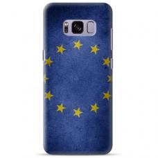 """Tpu Dėklas Unikaliu Dizainu 1.0 Mm """"U-Case Airskin Eu Design"""" Samsung Galaxy S8 Plus Telefonui"""