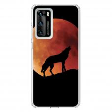 "Tpu Dėklas Unikaliu Dizainu 1.0 Mm ""U-Case Airskin Nature 3 Design"" Huawei P40 Telefonui"