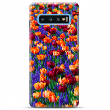 "Tpu Dėklas Unikaliu Dizainu 1.0 Mm ""U-Case Airskin Nature 2 Design"" Samsung Galaxy S10 Plus Telefonui"