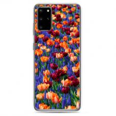 "Tpu Dėklas Unikaliu Dizainu 1.0 Mm ""U-Case Airskin Nature 2 Design"" Samsung Galaxy S20 Telefonui"