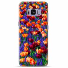 "Tpu Dėklas Unikaliu Dizainu 1.0 Mm ""U-Case Airskin Nature 2 Design"" Samsung Galaxy S8 Telefonui"