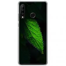 "Tpu Dėklas Unikaliu Dizainu 1.0 Mm ""U-Case Airskin Nature 1 Design"" Huawei P30 Lite Telefonui"