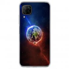 "Tpu Dėklas Unikaliu Dizainu 1.0 Mm ""U-Case Airskin Nature 4 Design"" Huawei P40 Lite Telefonui"