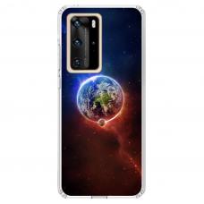 "Tpu Dėklas Unikaliu Dizainu 1.0 Mm ""U-Case Airskin Nature 4 Design"" Huawei P40 Pro Telefonui"