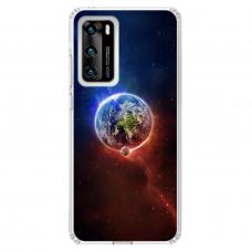 "Tpu Dėklas Unikaliu Dizainu 1.0 Mm ""U-Case Airskin Nature 4 Design"" Huawei P40 Telefonui"