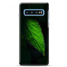 "Tpu Dėklas Unikaliu Dizainu 1.0 Mm ""U-Case Airskin Nature 1 Design"" Samsung Galaxy S10 Plus Telefonui"