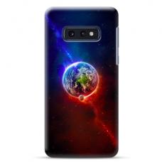 """Tpu Dėklas Unikaliu Dizainu 1.0 Mm """"U-Case Airskin Nature 4 Design"""" Samsung Galaxy S10E Telefonui"""