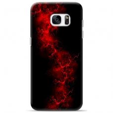 "Tpu Dėklas Unikaliu Dizainu 1.0 Mm ""U-Case Airskin Space 3 Design"" Samsung Galaxy S7 Edge Telefonui"