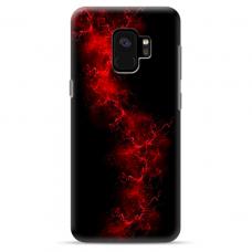 "Tpu Dėklas Unikaliu Dizainu 1.0 Mm ""U-Case Airskin Space 3 Design"" Samsung Galaxy S9 Telefonui"