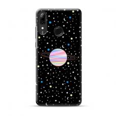 "Tpu Dėklas Unikaliu Dizainu 1.0 Mm ""U-Case Airskin Planet Design"" Huawei P Smart 2019 Telefonui"