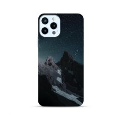 "TPU DĖKLAS UNIKALIU DIZAINU 1.0 mm ""U-CASE AIRSKIN MOUNTAINS 1 DESIGN"" IPHONE 12 PRO MAX TELEFONUI"