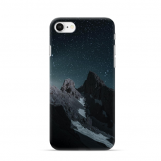 "TPU DĖKLAS UNIKALIU DIZAINU 1.0 mm ""U-CASE AIRSKIN MOUNTAINS 1 DESIGN"" IPHONE SE 2020 TELEFONUI"